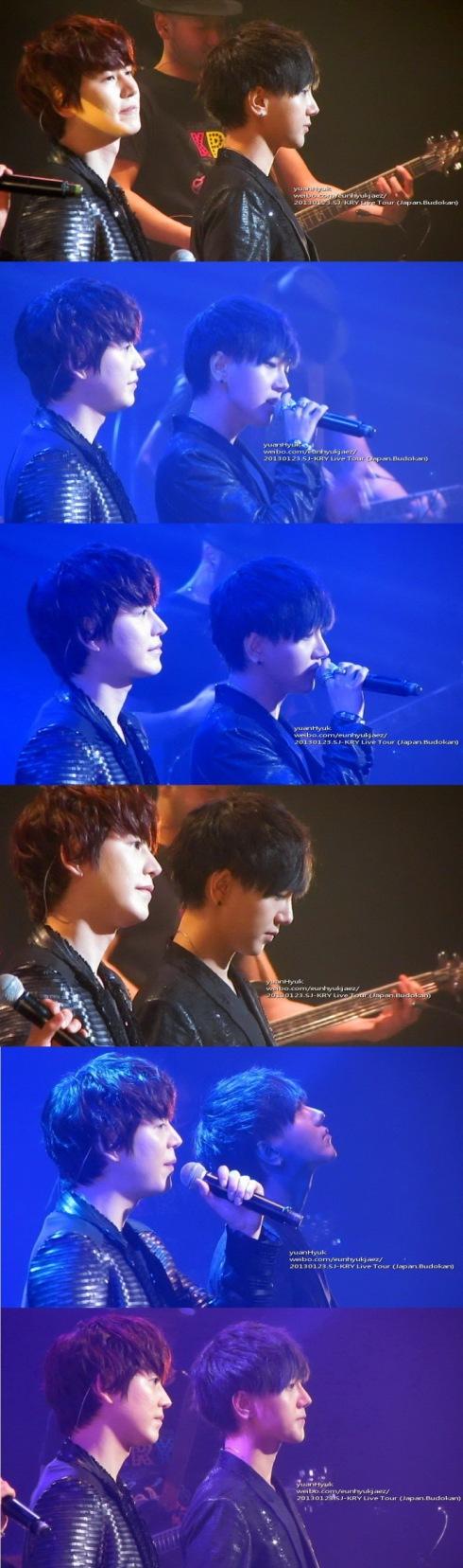 130123 KRY live tour Japan BudoKan- yuanhyuk