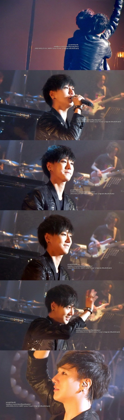 130123 KRY live tour Japan BudoKan- yuanhyuk1